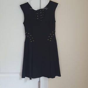 Victoria's Secret grommet, lace up dress